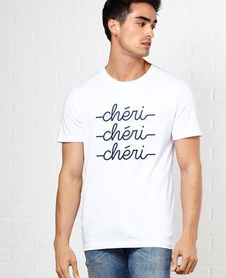 T-Shirt homme Chéri chéri chéri