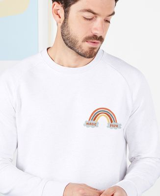 Sweatshirt homme Magic Papa