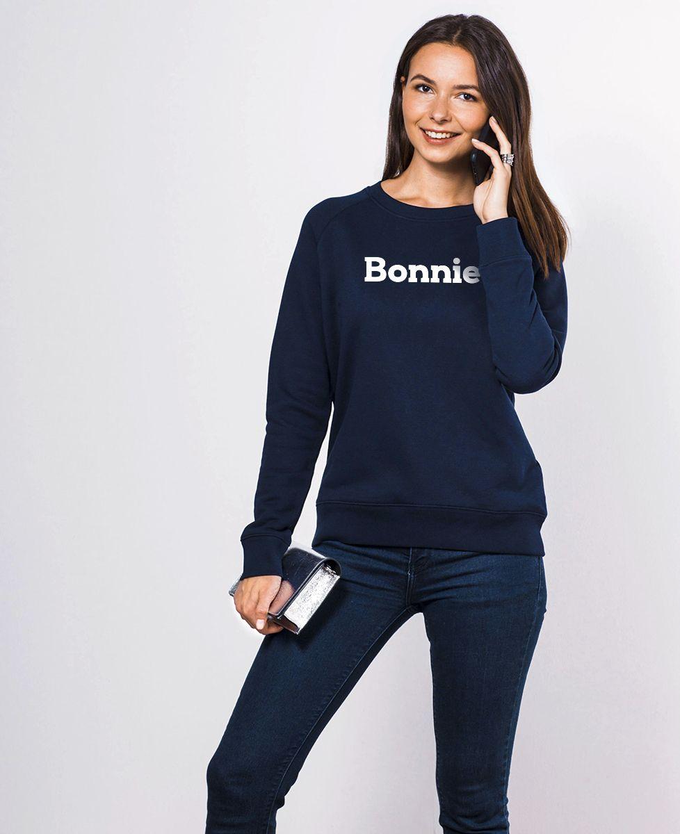 Sweatshirt femme Bonnie & Clyde