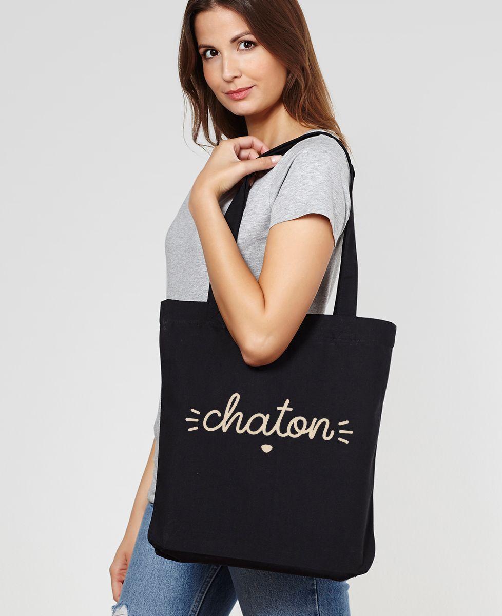 Totebag Chaton