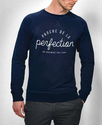 Sweatshirt homme La perfection