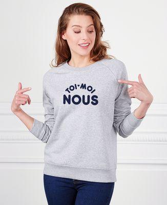 Sweatshirt femme Toi Moi Nous
