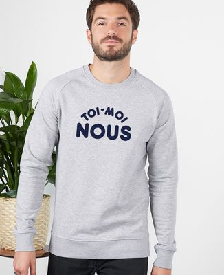 Sweatshirt homme Toi Moi Nous