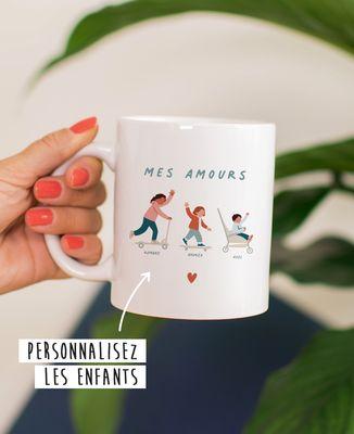 Mug Fratrie personnalisé