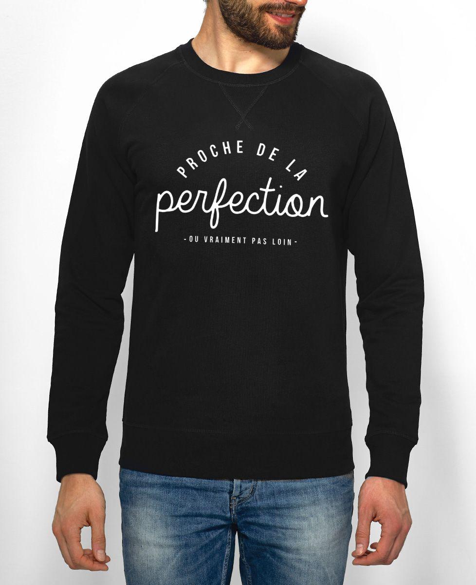 Sweatshirt homme La perfection