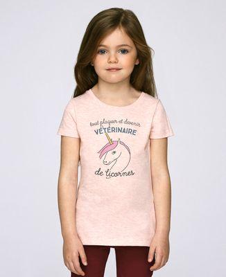 T-Shirt enfant Vétérinaire de licornes