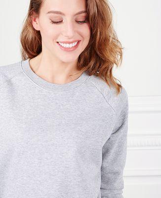 Sweatshirt femme Date de naissance brodé personnalisée