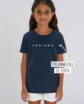 T-Shirt enfant Copines personnalisé