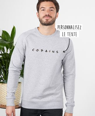 Sweatshirt homme Copains personnalisé