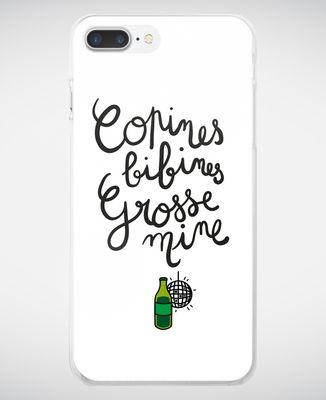 Coque smartphone Copines, bibines, grosses mines