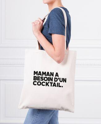 Tote bag Maman a besoin d'un cocktail