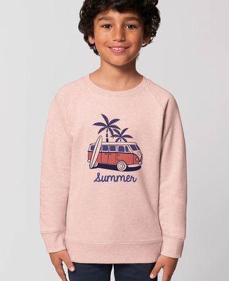 Sweatshirt enfant Van summer