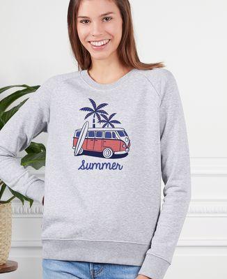 Sweatshirt femme Van summer