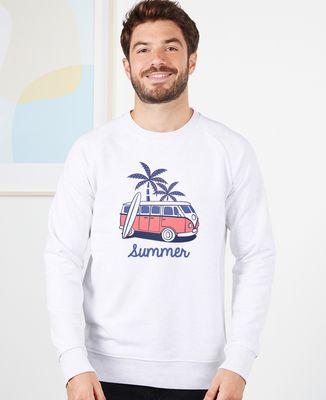 Sweatshirt homme Van summer