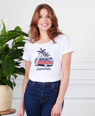 T-Shirt femme Van summer