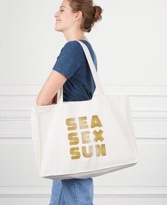 Maxi totebag Sea Sex Sun