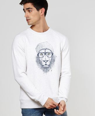 Sweatshirt homme Cool lion