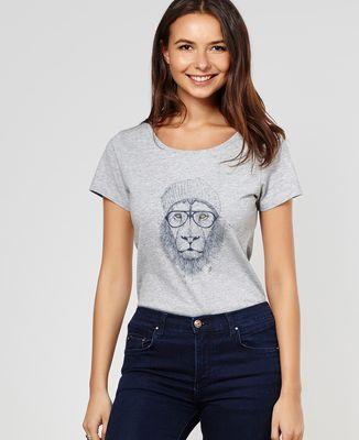 T-Shirt femme Cool lion