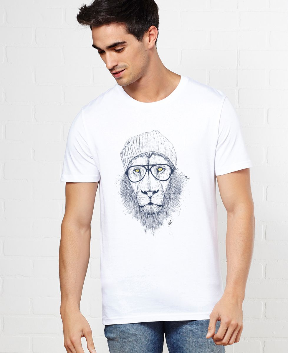 T-Shirt homme Cool lion
