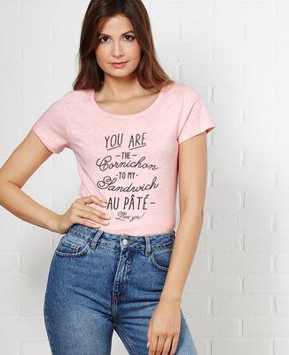 T-Shirt femme Cornichon
