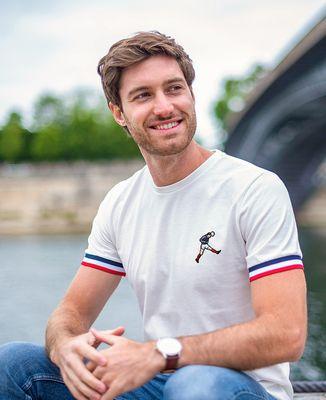 T-Shirt homme Filgood Zizou 98 (brodé)