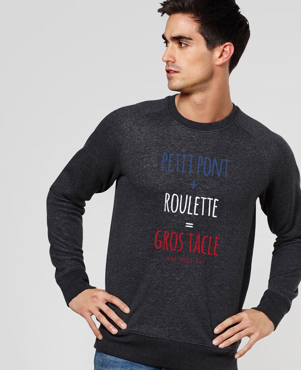 Sweatshirt homme Gros tacle