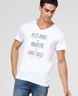 T-Shirt homme Gros tacle