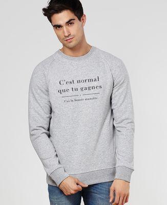 Sweatshirt homme J'avais pas la bonne manette