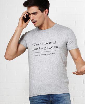 T-Shirt homme J'avais pas la bonne manette