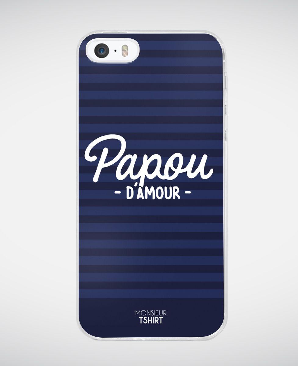 Coque smartphone Papou d'amour