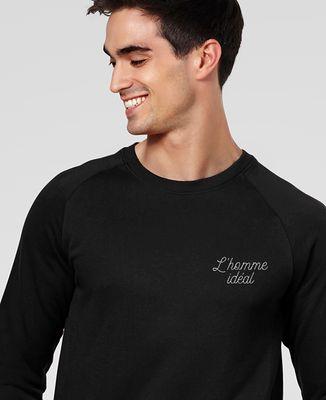 Sweatshirt homme L'homme idéal brodé