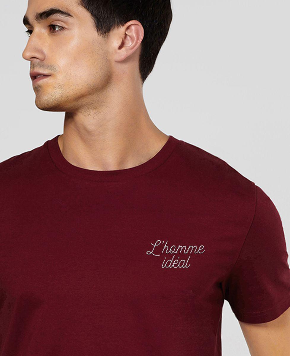 T-Shirt homme L'homme idéal brodé