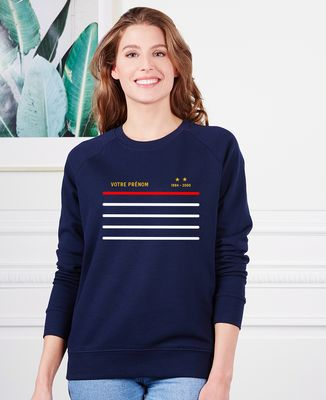 Sweatshirt femme Classico domicile personnalisé