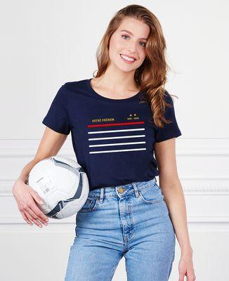 T-Shirt femme Classico domicile personnalisé