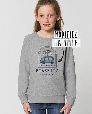 Sweatshirt enfant Roadtrip personnalisé