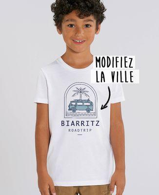 T-Shirt enfant Roadtrip personnalisé