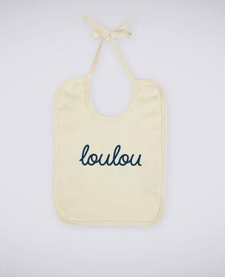 Bavoir Loulou