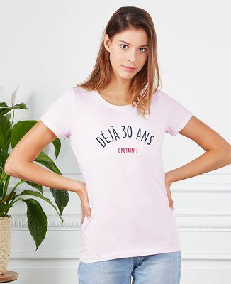 T-Shirt femme Putain d'anniversaire personnalisé