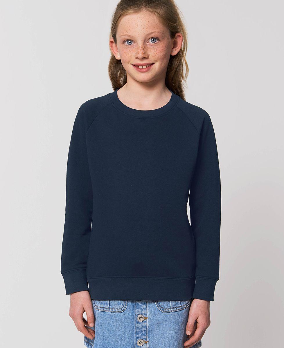 Sweatshirt enfant Van personnalisé textile foncé