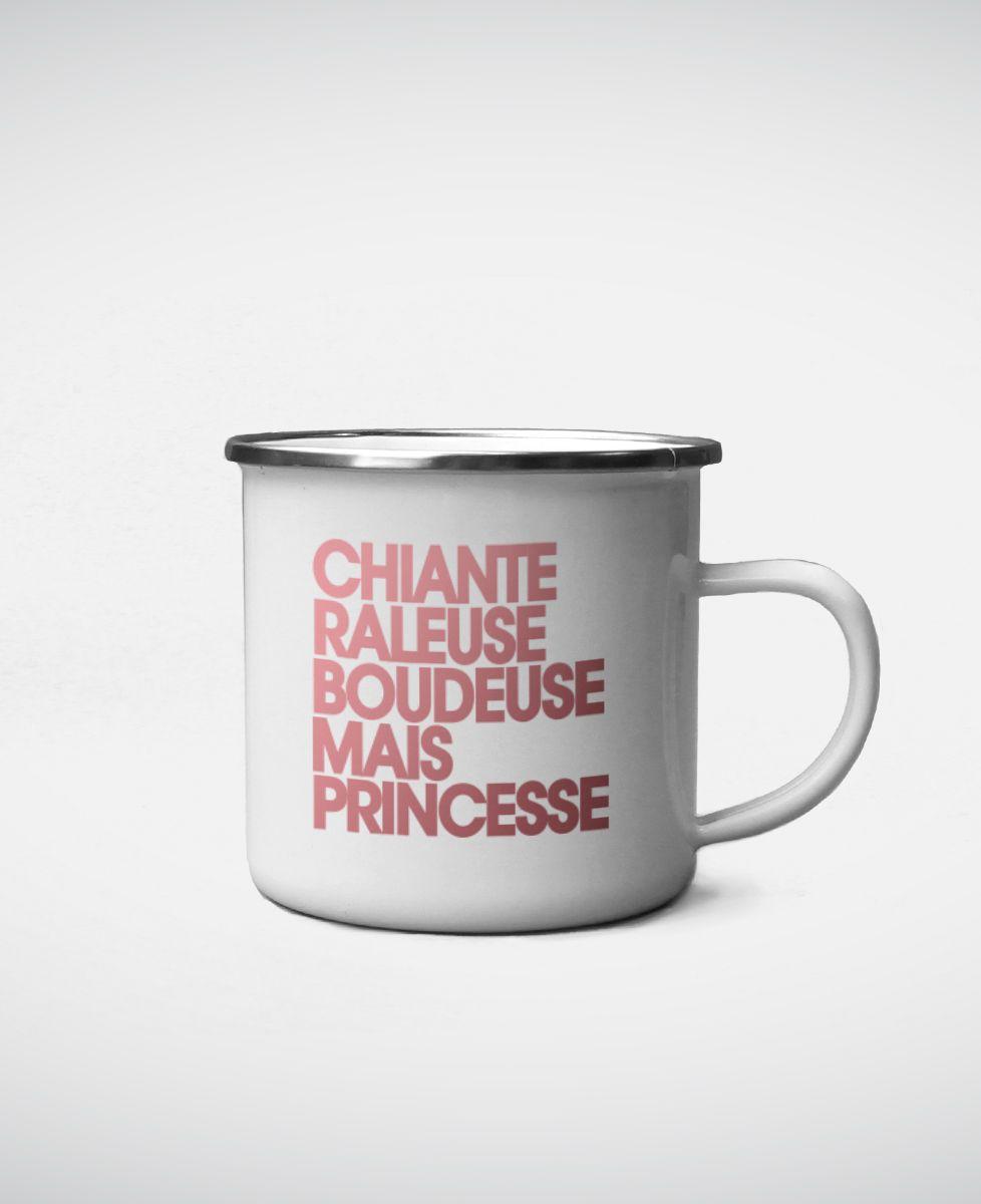 Mug Chiante râleuse boudeuse mais princesse