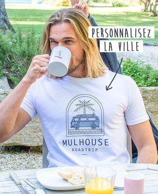 T-Shirt homme Roadtrip personnalisé