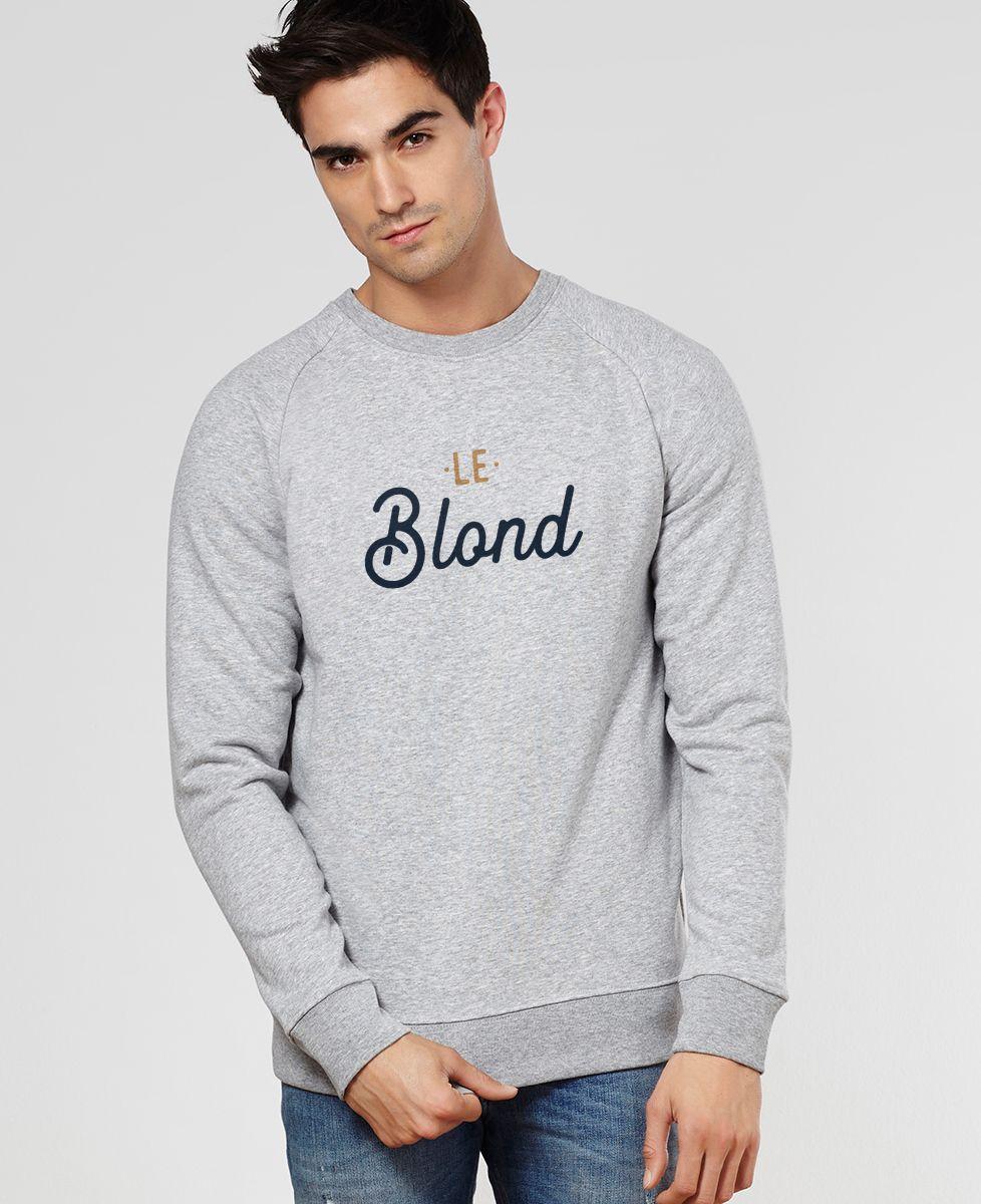 Sweatshirt homme Le blond