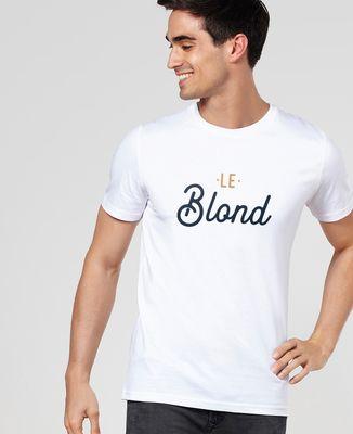 T-Shirt homme Le blond