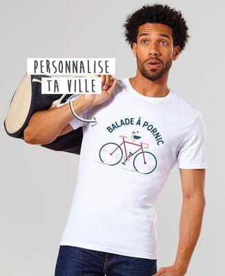 T-Shirt homme Balade à vélo personnalisé