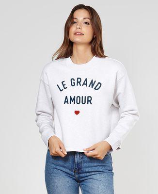Sweatshirt femme Le grand amour