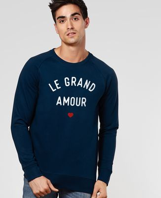 Sweatshirt homme Le grand amour