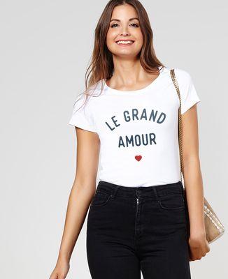 T-Shirt femme Le grand amour