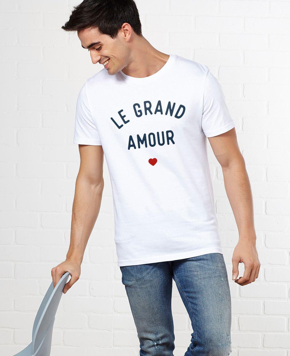 T-Shirt homme Le grand amour