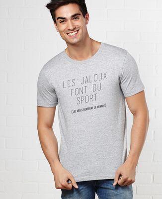 T-Shirt homme Les jaloux font du sport
