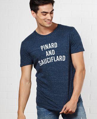 T-Shirt homme Pinard & Sauciflard